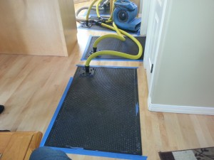 water damage cleanup henderson