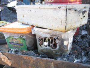 Fire Damage Contents