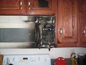 fire - microwave